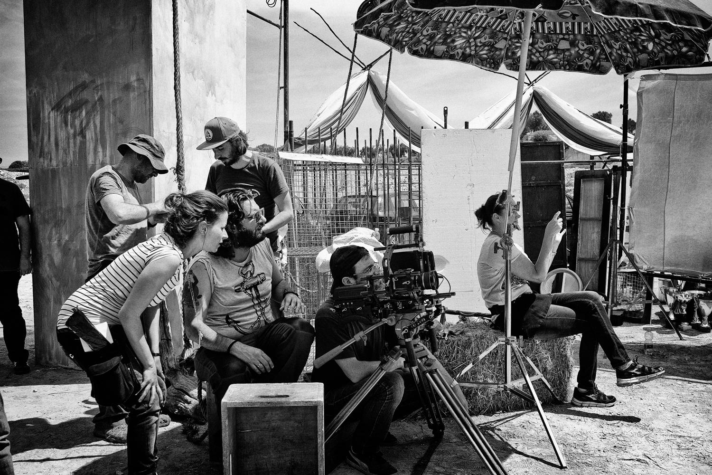backstage videoclip babilonia bandadriatica